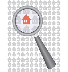 find house vector image