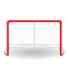 gates goalie for the game of hockey vector image