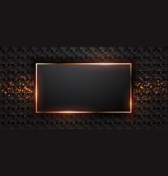 luxury dark background vector image