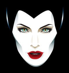 mistress evil vector image