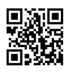 qr code isolated vector image