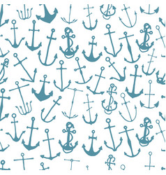 Seamless pattern with engraved hand drawn vector