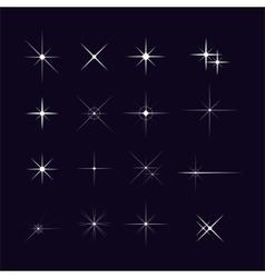 Set sparks vector
