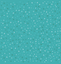 Teal bubbles pebbles seamless pattern vector