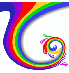 swirl illustration vector image
