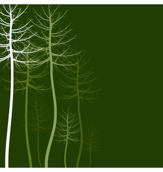Abstract tree5 vector image