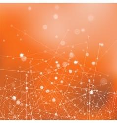 Molecule Structure Communication Concept vector image vector image