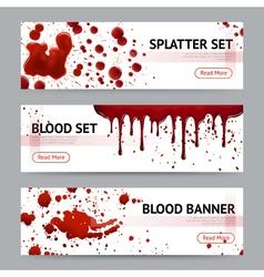 1611i029027Sm005c15blood splatters horizontal vector