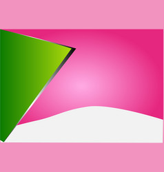 abstract background burst light green black vector image