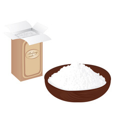 Baking soda vector