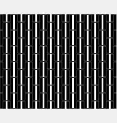 black h alphabet pattern background vector image