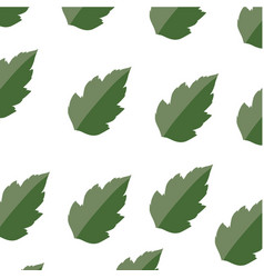 Leaves ecology symbol vector