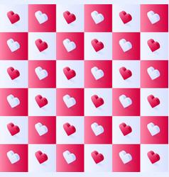 seamless isometric stock pattern geometric flat vector image
