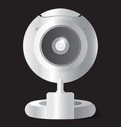 Web Camera for computer and notebook vector image