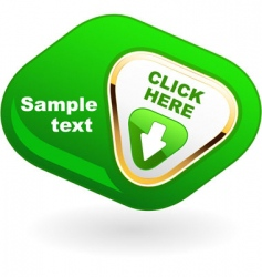 button for web vector image vector image