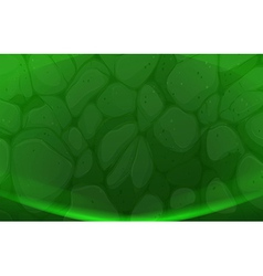 A green stonewall background vector