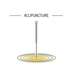 Acupunkture traditional chinese medicine vector