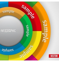 Business Infographics Circle vector