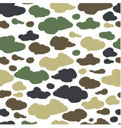 camouflage background seamless pattern for your vector image
