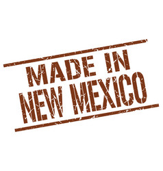 Made in new mexico stamp vector