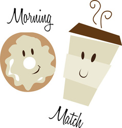 Morning Match vector