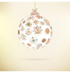 Retro Christmas background EPS8 vector image