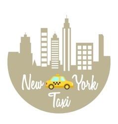 Speed Taxi vector image