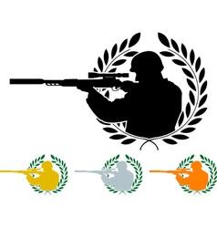 Stencil sniper vector