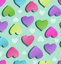 Sweet hearts seamless vector
