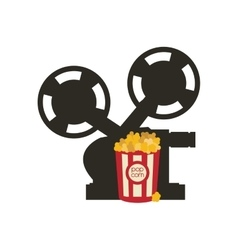 Videocamera cinema movie design vector