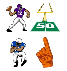 football game vector image vector image