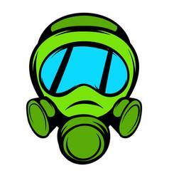 gas mask icon icon cartoon vector image vector image