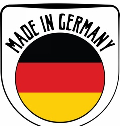 Made in Germany rubber stamp vector image vector image