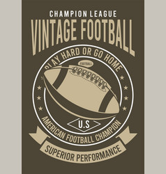 champion league football vector image