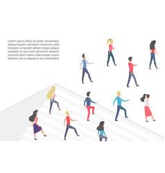 flat minimalistic concept vector image