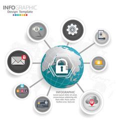 general data protection regulation gdpr concept vector image