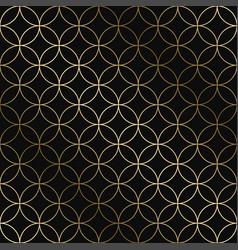 geometric art deco pattern - seamless vector image