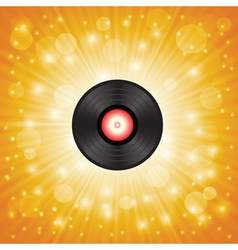 Music shellac vector