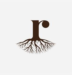Root logo vector
