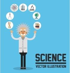Science design Colorfull Cartoon vector