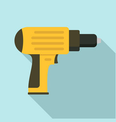 screwdriver icon flat style vector image