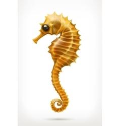 Seahorse icon vector image