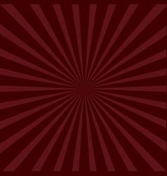 sunburst starburst with ray light bordo color vector image