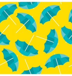 beach umbrella background vector image vector image