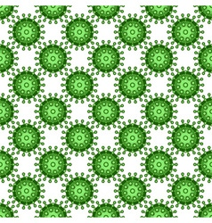Abstract virus pattern vector image vector image