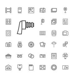 33 photo icons vector