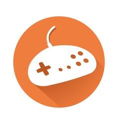 Gamepad symbol vector image