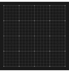 grid marking for user HUD interface vector image