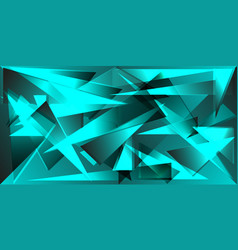 mirror fragments of icebergs for the design of vector image