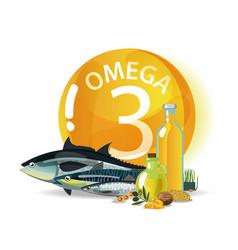 Omega 3 vector